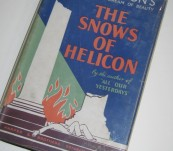 The Snows of Helicon – Tomlinson – First Edition 1933 – Architects Delight