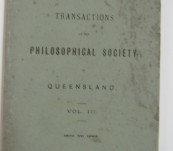 Proceedings of the Royal Society of Queensland – 1904