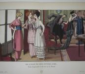 On aurait pu nous inviter aussi – Brissaud – Gazette du Bon Ton -1914