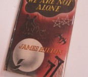 We Are Not Alone – James Hilton – First Edition 1937