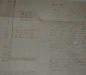 """A letter to Captain Philip Parker King from his son Philip Gidley King regarding the first explorations of the land that was to become """"Gidleigh"""" signed and dated 17th August 1836 with an affectionate note to his Mother"""