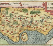 Thietmarsia (Dithmarshen) Germany – Bertius -1599