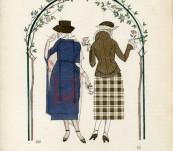 Les Premieres Roses – Gazette du Bon Ton – J Goje 1913