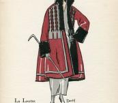 La Loutre – Gazette du Bon Ton – David – 1922