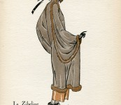 La Zibeline – Gazette du Bon Ton – David – 1922