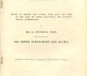 Report on British New Guinea, from data and notes by the late Sir peter scratchley, Her Majesty's special commissioner – 1886
