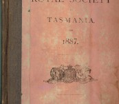 Rev J.E. Tenison-Woods Copy  – Papers and Proceedings of the  Royal Society of Tasmania – 1887