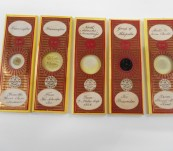 Collectable Marine Microscope Slides – From the 1860's – Prepared by Edmund Wheeler – From a 19th Century Australian Collectionn