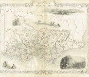 Map of Victoria or Port Phillip – 1851 John Tallis