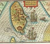 Mozambique Island – Bertius -1603