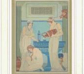 Medical Classical Erotic Prints – Hippocrates Pochoir – Kuhn Regneir – 1932 (Voyager Number 3)