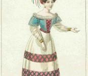 Costume de Melle Elisa Jacops – c1830