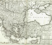 Eastern Europe – Isakk Tirion -1733