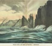 Cape Raoul Tasman Island – Tasman's Insel an der Kuste von Tasmanien – Schreiber – 1873