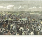 Sale of A Winner on the Race Ground – Epson Downs 1863