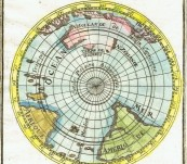 (Southern Hemisphere) – Continent Meridional Austral ou Antarctique – Alain Manesson Mallet – 1683