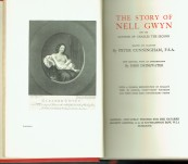 The Story of Nell Gwyn And the Sayings of Charles the Second – Cunningham – Private Printing 1927 Fine Condition