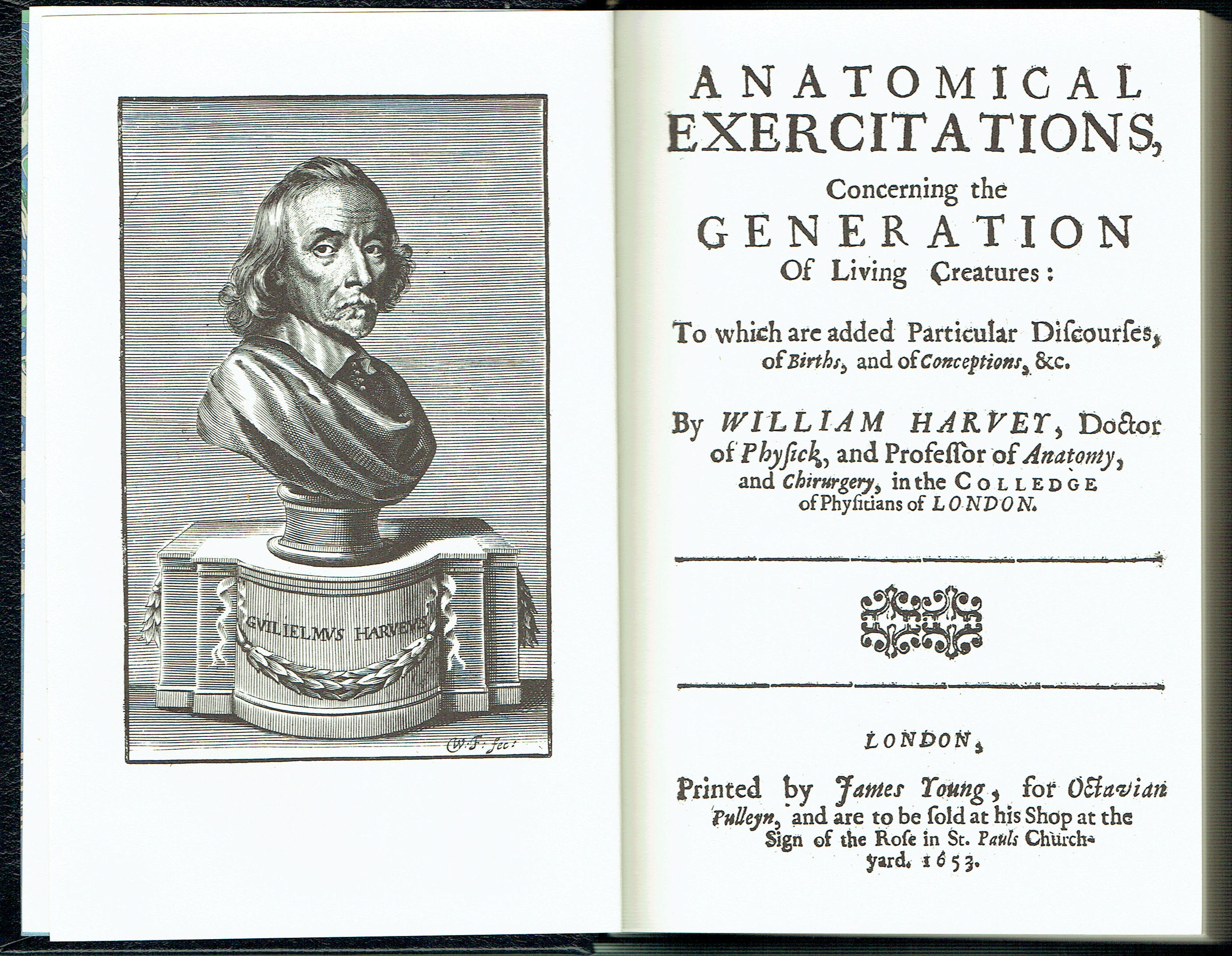 Anatomical Exercitaions Concerning the Generation of Living ...