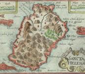 (Sancta Helena) Saint Helena Island – Bertius -1603