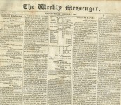 The Battle of Lake Champlain (Plattsburgh), and The Battle of Fort McHenry (Baltimore) – The Boston Messenger – 7th October 1814