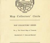 The Printed Maps of Tasmania – Tooley – 1963