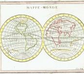 Mappe Monde – Buffier – 1760