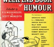 The Week-End Book of Humour – Various selected by P.G. Wodhouse – 1954