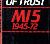 A Matter of Trust – MI5 (1945-1972) – Nigel West