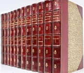 The Bronte Sisters Complete Works – Complete In Twelve Volumes – Finely Bound by Dent London -1893