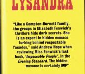 The Last of Lysandra – Elizabeth Fenwick