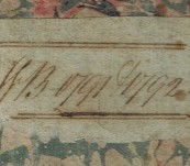 Original manuscript Accounts Book 1791/92 – Most Likely – Webster's Ropery Sunderland, County Durham, England