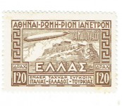 Special Graf Zeppelin Stamp Set – Greece 1933