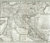 Map of the Middle East – Isaak Tirion – 1732