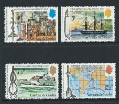 The HMS Challenger Expedition 1872-1876 Centenary Celebration of Visit Tristan da Cunha – Mint Stamp Set