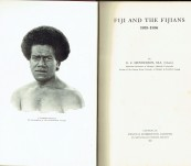 Fiji and The Fijians (1835-1856) – G.C. Henderson