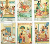 Egyptian (Isis and Osiris) Trade Cards – 1920's
