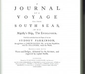 Journal of a Voyage to the South Seas in His Majesty's Ship, the Endeavour – Sydney Parkinson