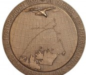 Commemorative Medal  – The Andree Balloon Expedition – Issued 1930 on the Discovery of the Party Lost in 1897.