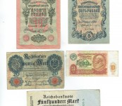 Collection of Foreign Banknotes