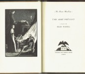 The Abbe Prevost – A Play by Helen Waddell – First Limited Numbered Signed edition – 1933