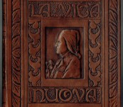La Vita Nuova (The New Life) – Dante – Translated by Dante Gabriel Rosetti – Special Print & Binding c1916