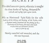 The Seamans Secrets (1633) – John Davis – Fine Facsimile from John Carter Brown University – 1992