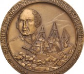 Sir John Franklin and Lady Jane Franklin Commemorative Medal