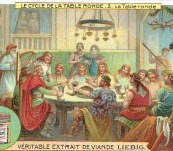 King Arthur – The Cycle of the Round Table – Trade Cards 100 Years Old