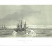 The Discovery of the Clarie Coast Antarctic – Dumont d'Urville – 26th January 1840