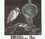 Sir Lionel Lindsay – Three Bookplates c1923-1933