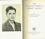 "The Collected Poems of Sidney Keyes – With Unpublished typescript Poem ""Ode to Hitler"""