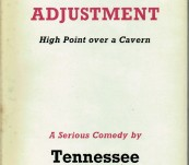 Period of Adjustment – Tennessee Williams – First UK Edition 1960.