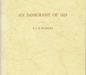 An Immigrant of 1824 [George Robinson - Tasmania] – N.J.B. Plomley