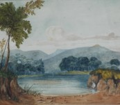 Original Watercolour – Lt Janvarin Grassie R.N. – New South Wales – 1876